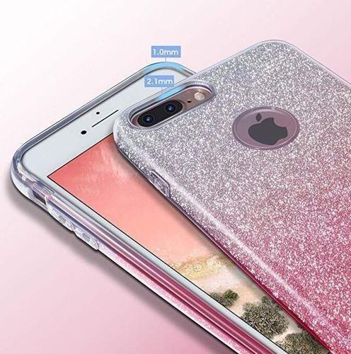 Wozinsky Glitter Case błyszczące etui pokrowiec z brokatem Samsung Galaxy A50 niebieski