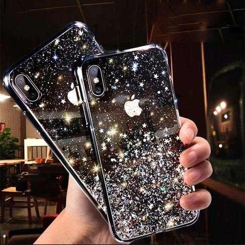 Wozinsky Star Glitter błyszczące etui pokrowiec z brokatem Samsung Galaxy A50s / Galaxy A50 / Galaxy A30s różowy