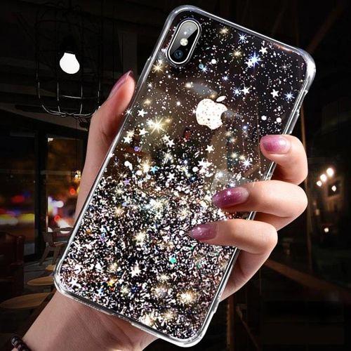 Wozinsky Star Glitter błyszczące etui pokrowiec z brokatem Samsung Galaxy A70 przezroczysty