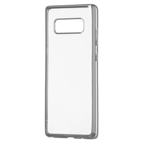 Żelowy pokrowiec etui Metalic Slim Samsung Galaxy S9 G960 srebrny