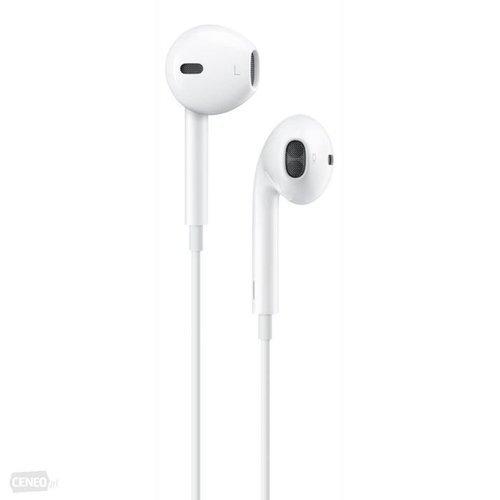 Zestaw słuchawkowy słuchawki Jack 3.5 mm Apple IPHONE EARPOD BOX MD827ZM