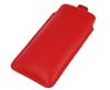 Pionowa skórzana wsuwka Vena SAMSUNG NOTE 2/ 3/ 4/ IPHONE XR czerwona